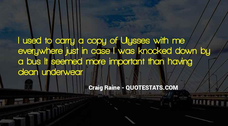 Craig Raine Quotes #1111175