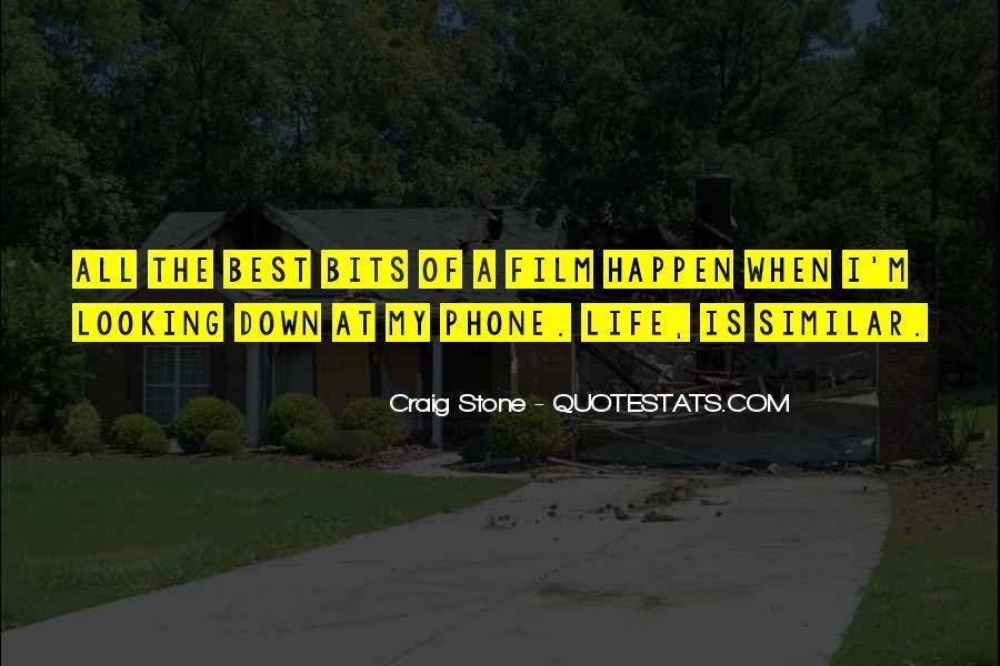 Craig Stone Quotes #1235182