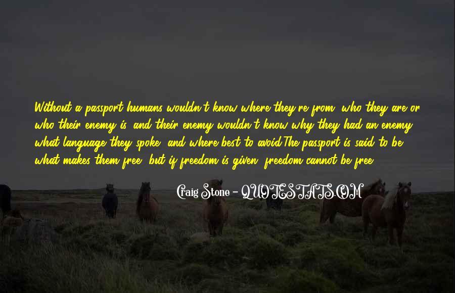 Craig Stone Quotes #1343522