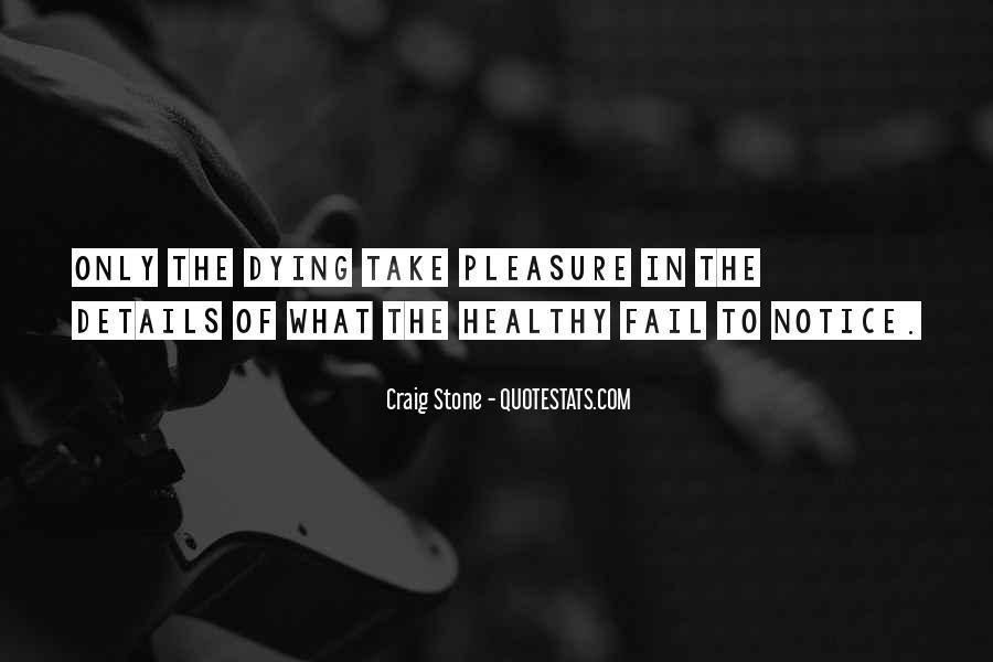 Craig Stone Quotes #1779147