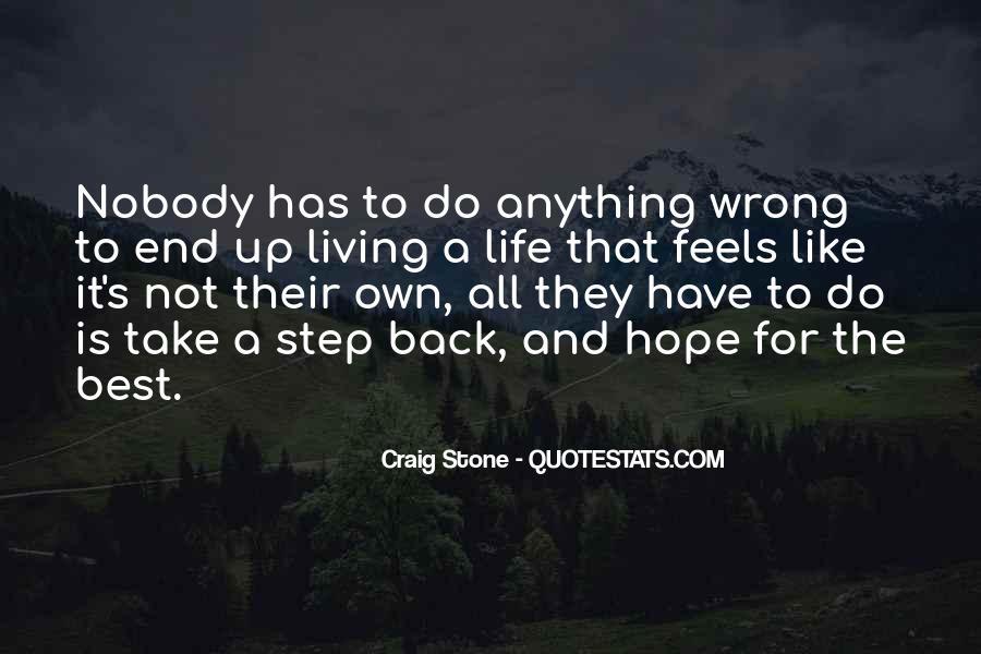 Craig Stone Quotes #561699