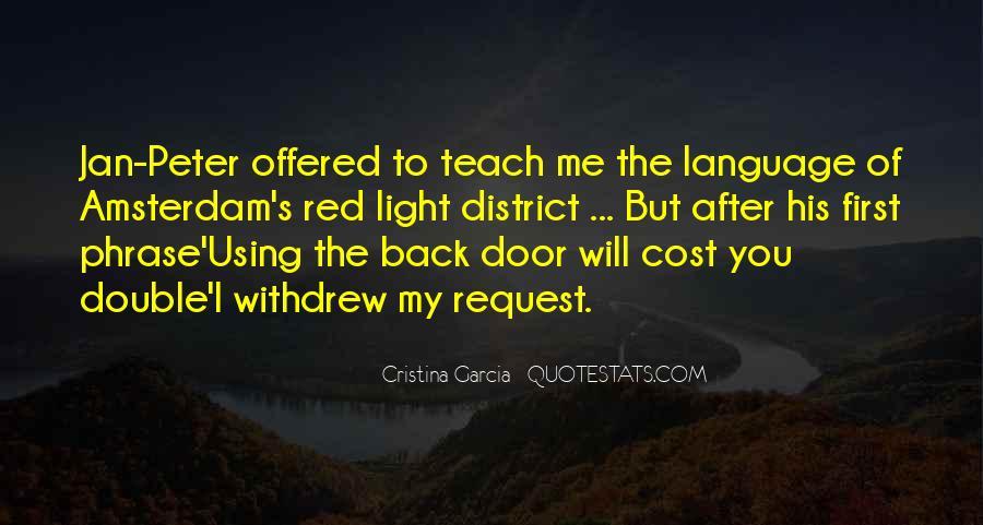 Cristina Garcia Quotes #1219794