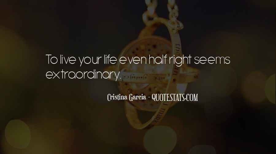 Cristina Garcia Quotes #1529359