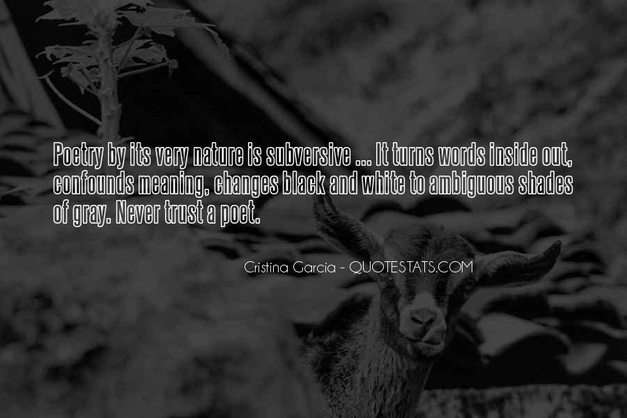 Cristina Garcia Quotes #1834743
