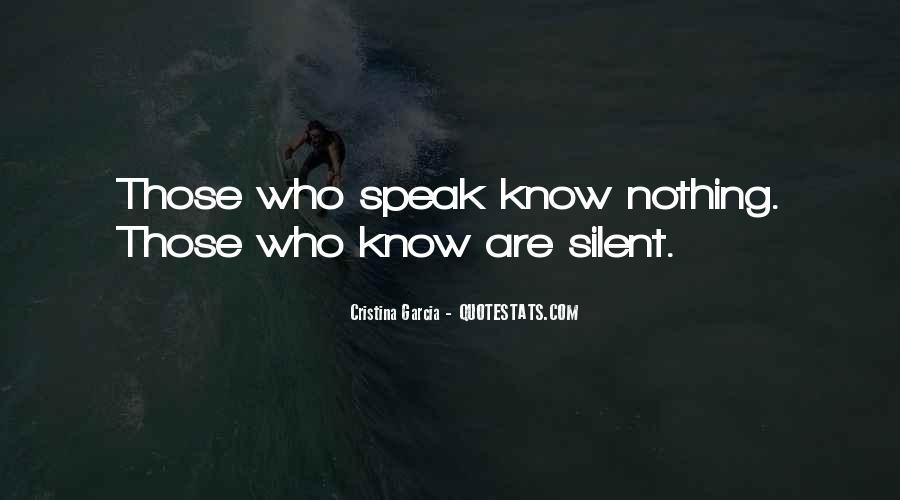 Cristina Garcia Quotes #89765
