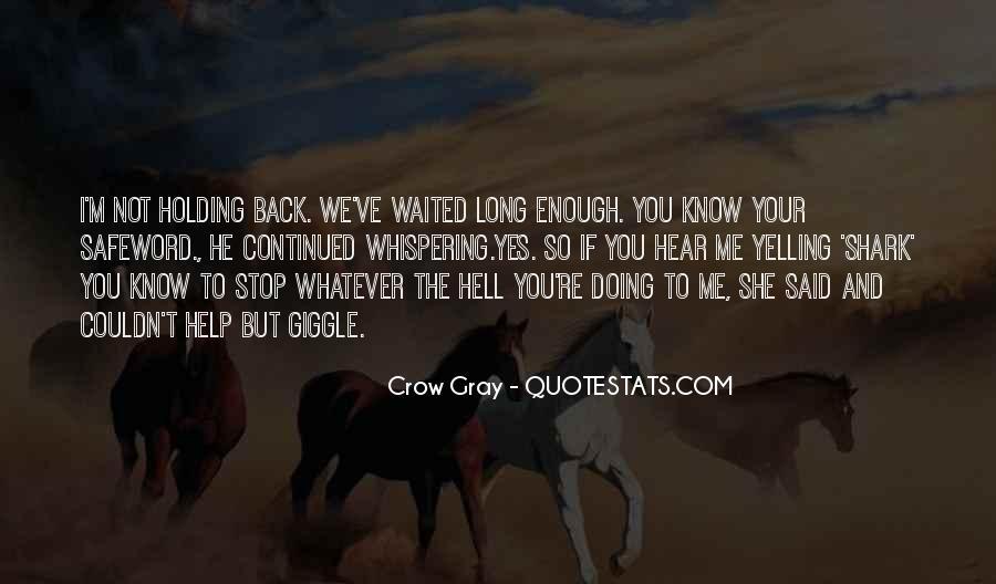 Crow Gray Quotes #1614069