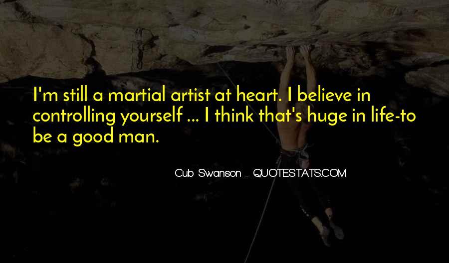 Cub Swanson Quotes #674187