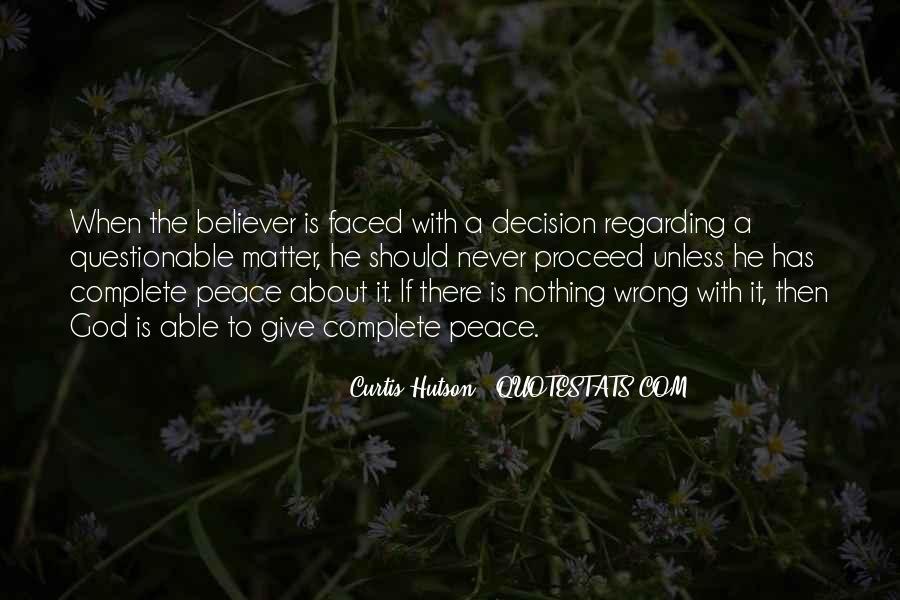 Curtis Hutson Quotes #1390268