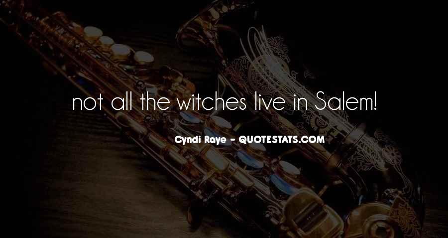 Cyndi Raye Quotes #507085