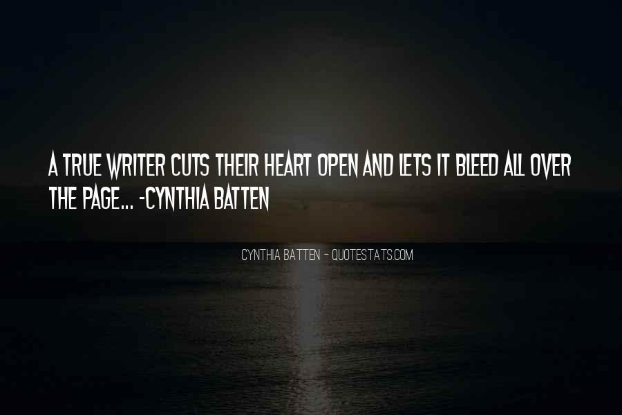 Cynthia Batten Quotes #1860681