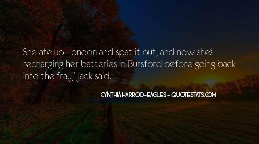Cynthia Harrod-Eagles Quotes #1487505