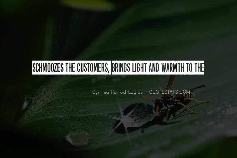 Cynthia Harrod-Eagles Quotes #934527