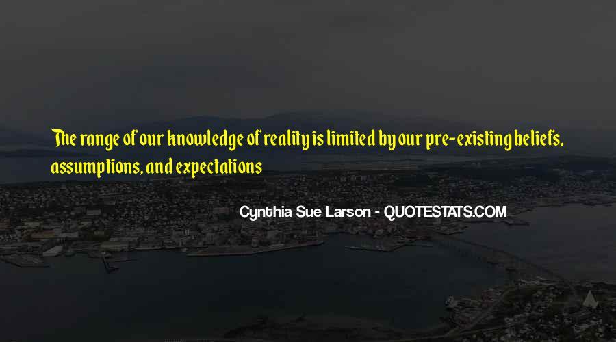 Cynthia Sue Larson Quotes #740486