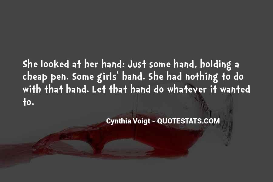 Cynthia Voigt Quotes #1127332