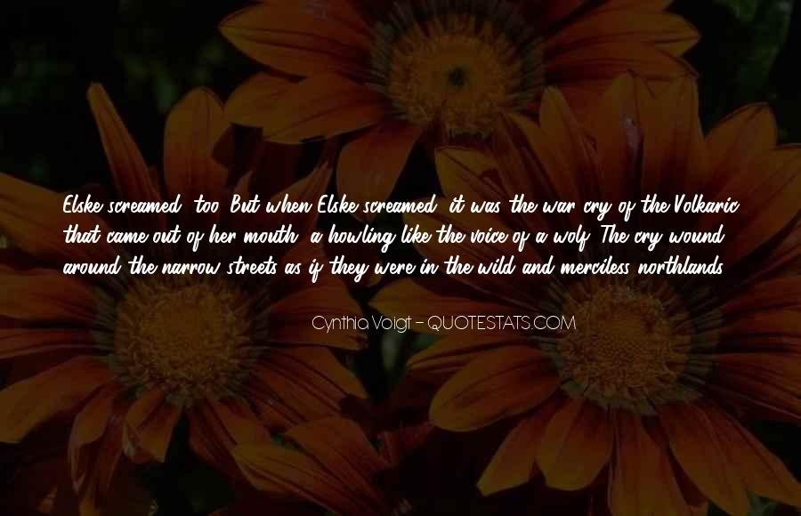 Cynthia Voigt Quotes #1143258