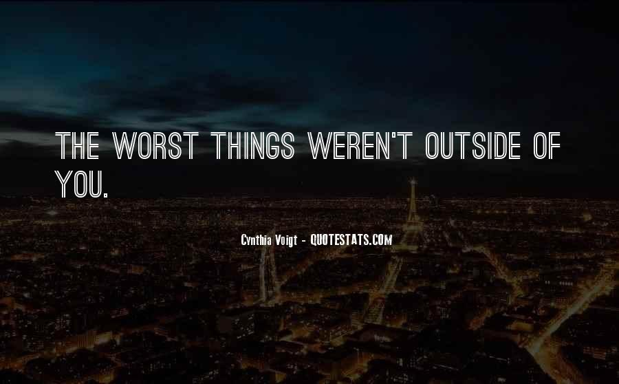 Cynthia Voigt Quotes #1151450