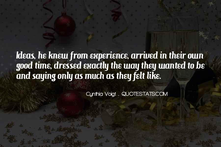 Cynthia Voigt Quotes #1563150