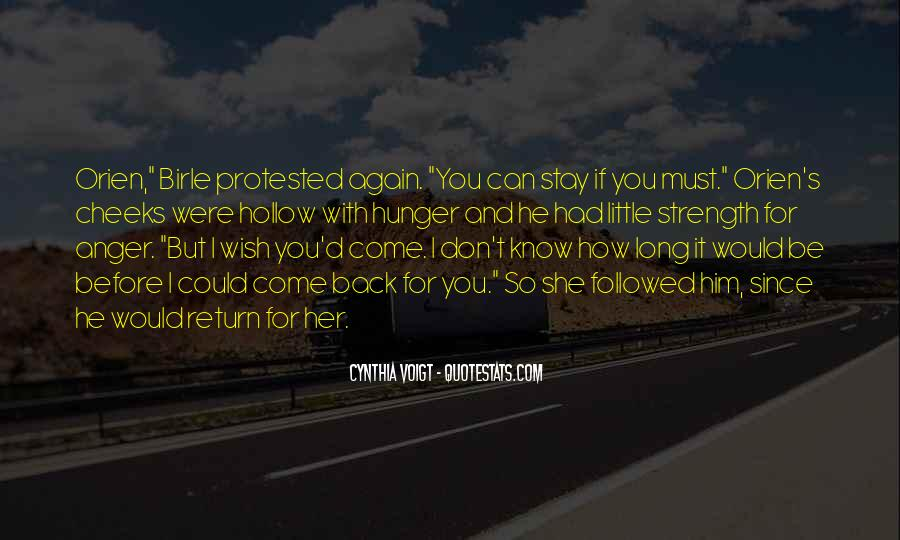 Cynthia Voigt Quotes #228109