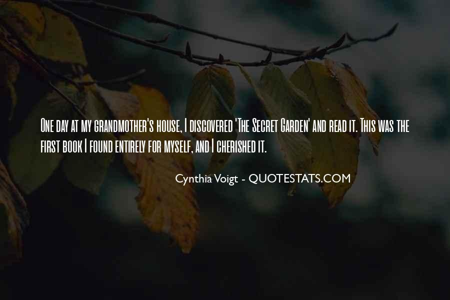 Cynthia Voigt Quotes #390290