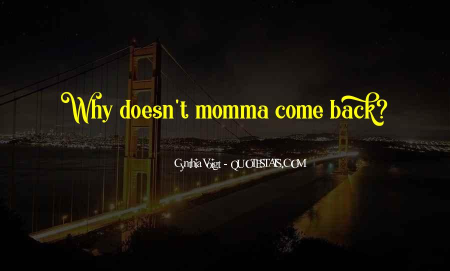 Cynthia Voigt Quotes #460687