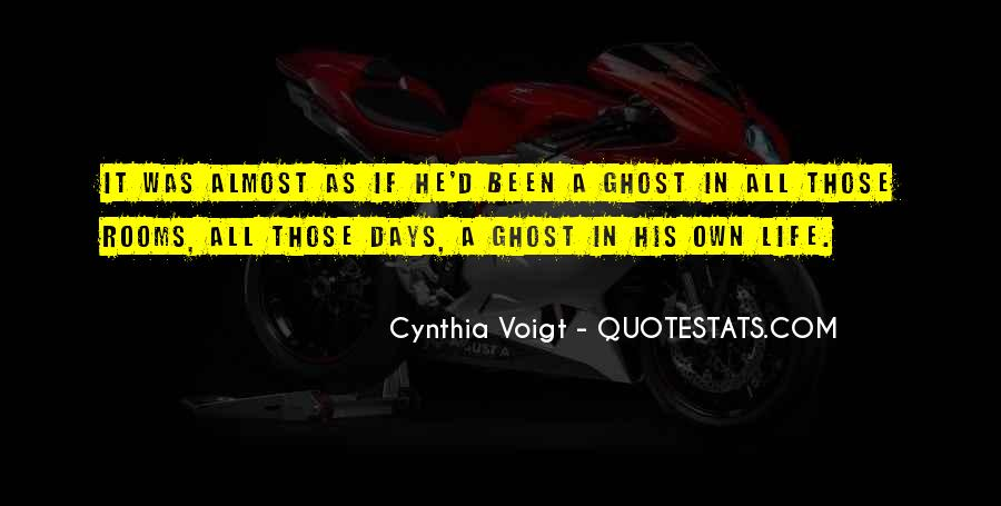 Cynthia Voigt Quotes #499129
