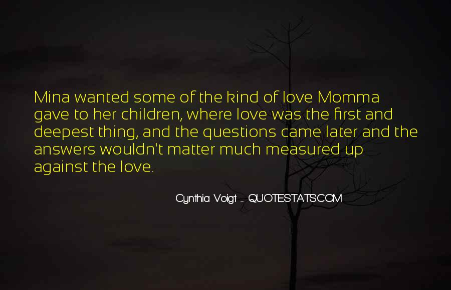 Cynthia Voigt Quotes #530659