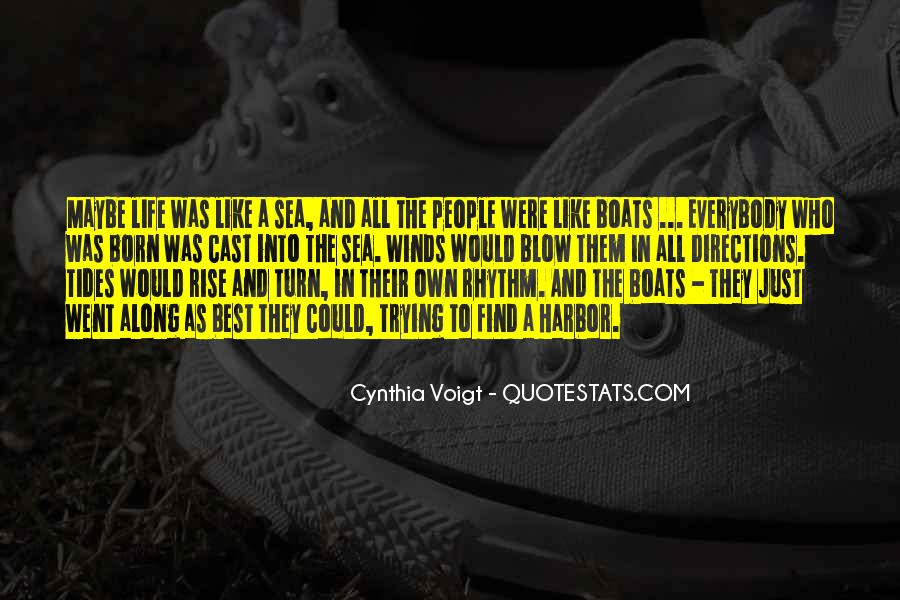 Cynthia Voigt Quotes #654355