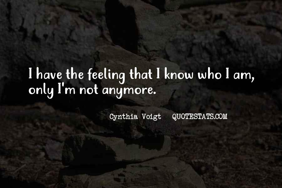Cynthia Voigt Quotes #707982