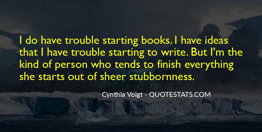 Cynthia Voigt Quotes #905987