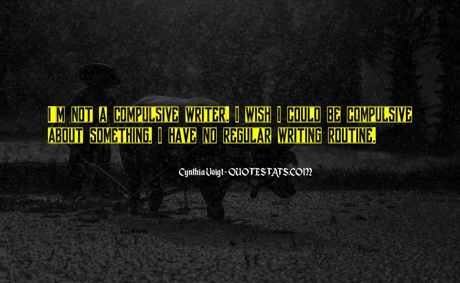 Cynthia Voigt Quotes #908155