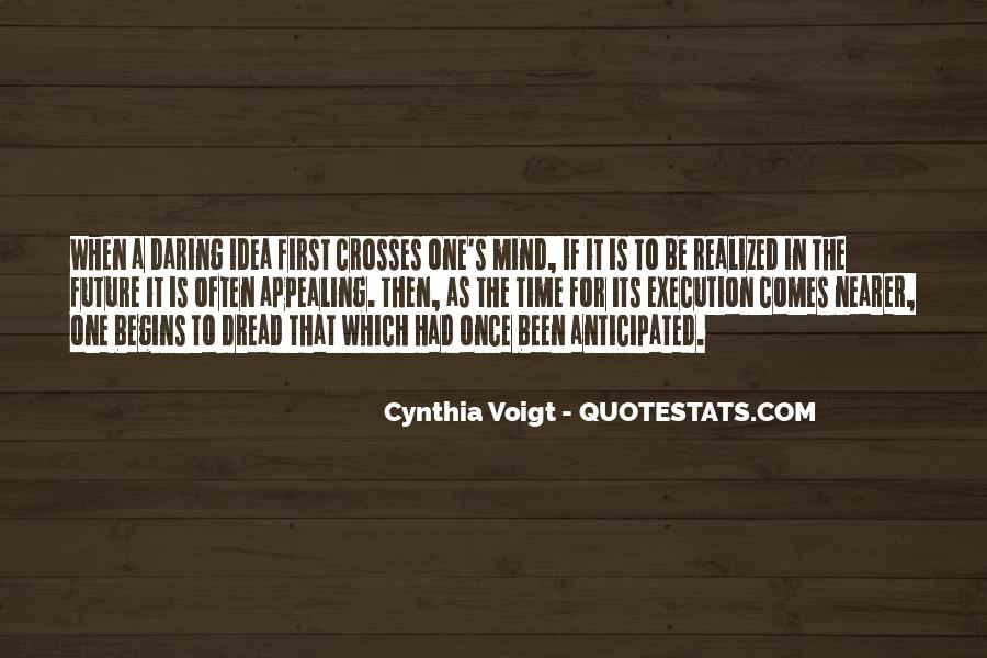 Cynthia Voigt Quotes #917034