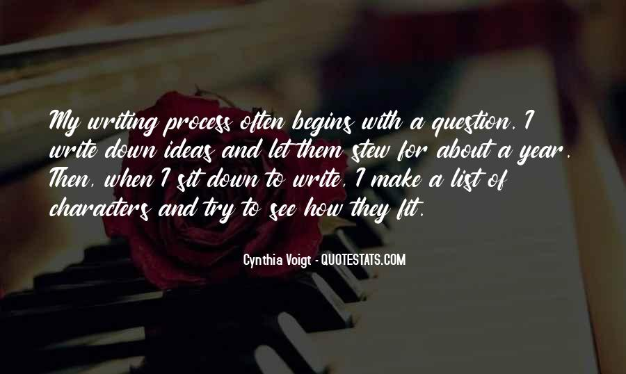 Cynthia Voigt Quotes #973226
