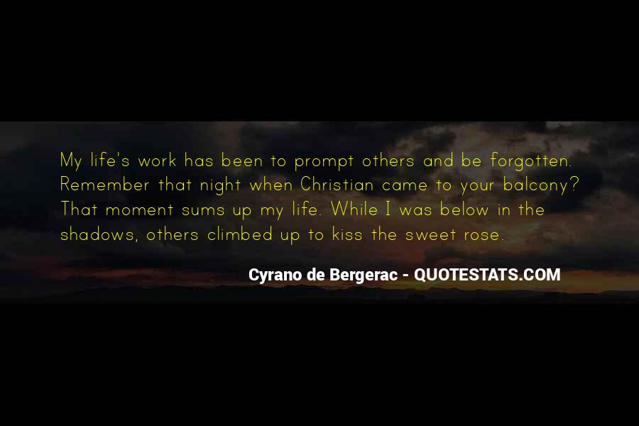 Cyrano De Bergerac Quotes #875253