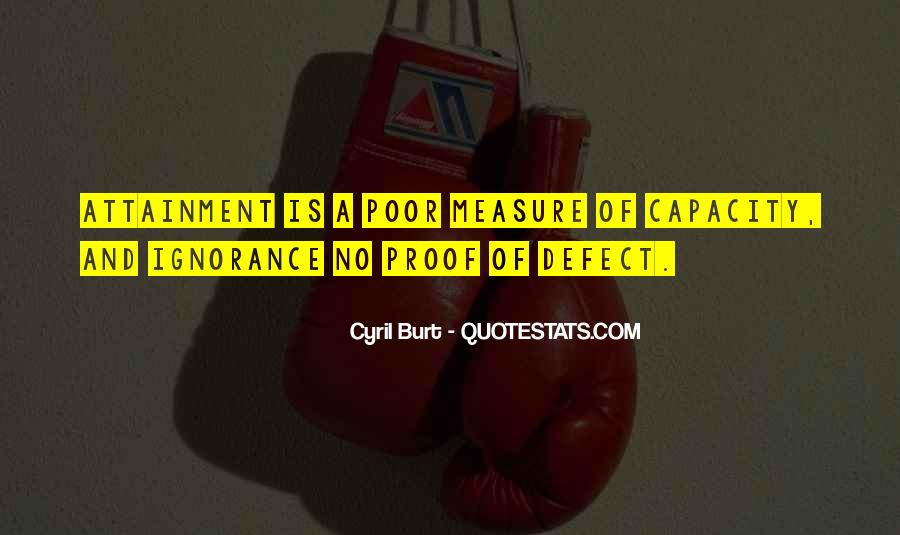 Cyril Burt Quotes #1065101