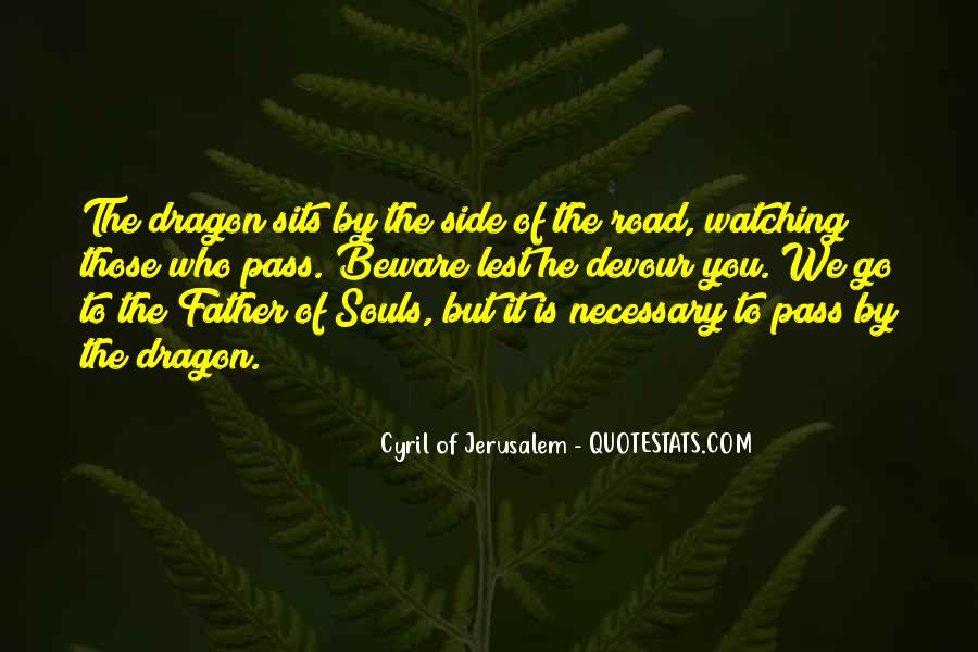 Cyril Of Jerusalem Quotes #1049324