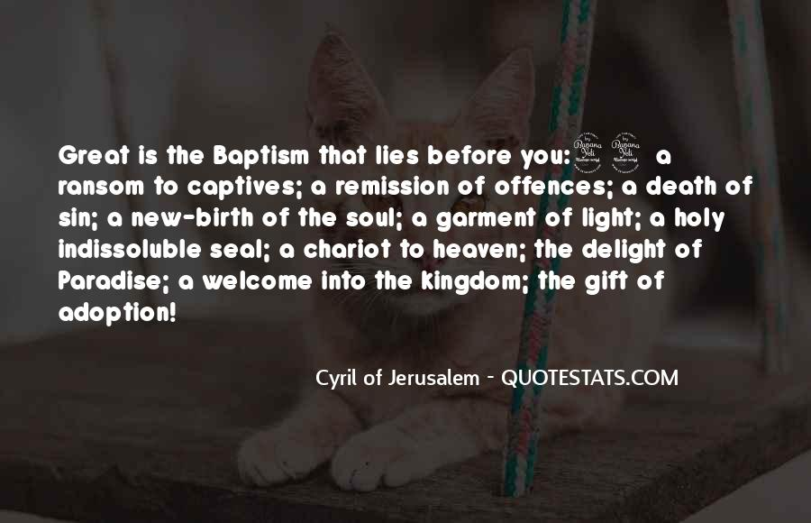 Cyril Of Jerusalem Quotes #1783259