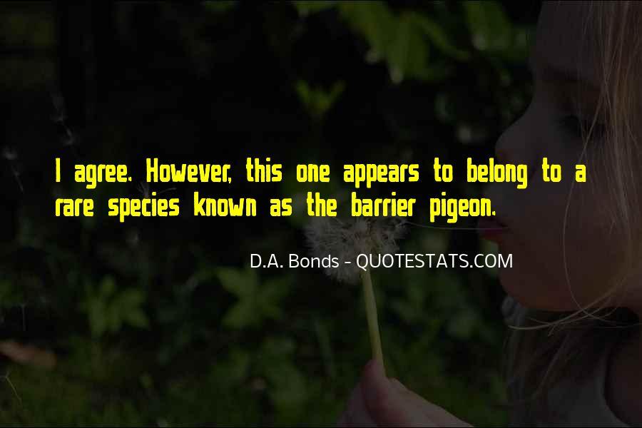 D.A. Bonds Quotes #1841449