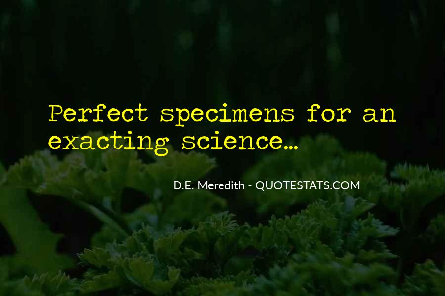 D.E. Meredith Quotes #779267