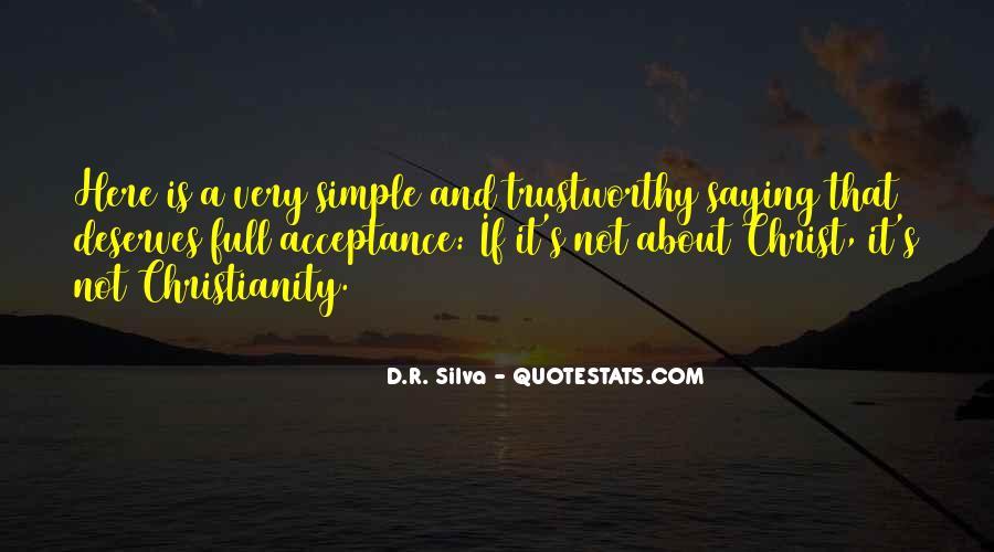 D.R. Silva Quotes #1672344