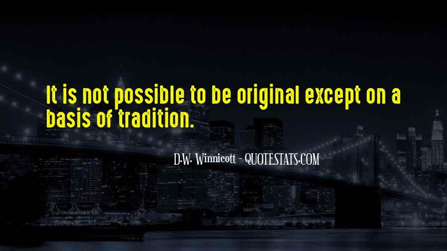D.W. Winnicott Quotes #1865442