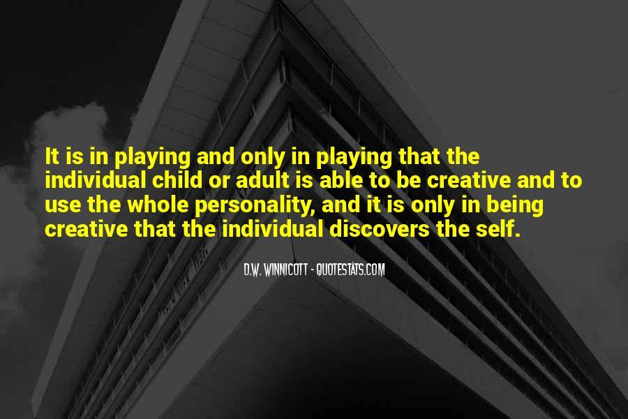 D.W. Winnicott Quotes #195874