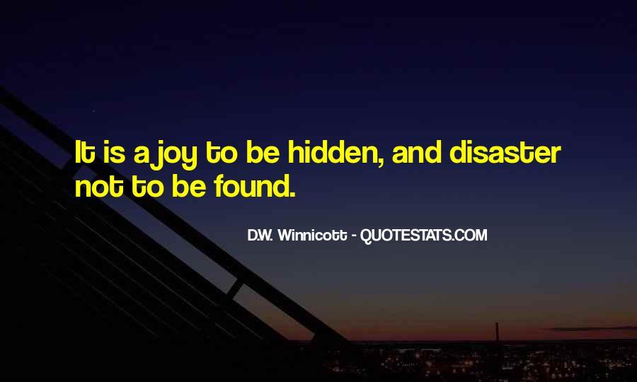 D.W. Winnicott Quotes #73746