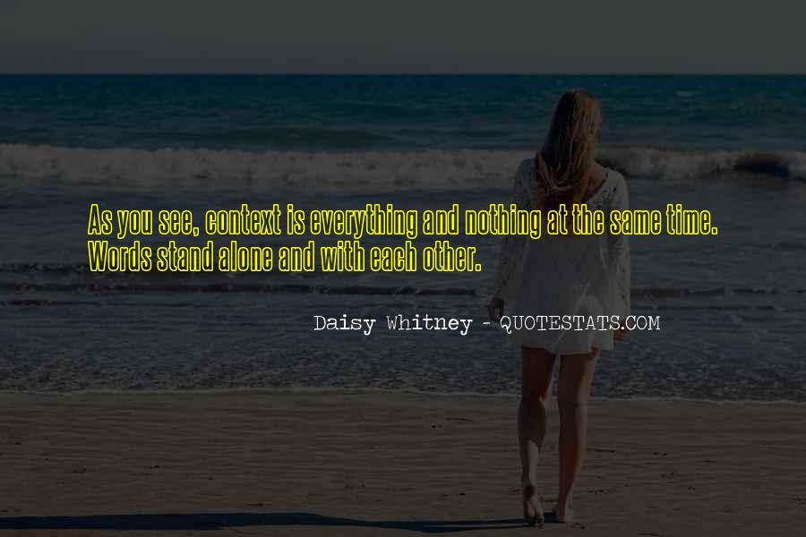 Daisy Whitney Quotes #1140402