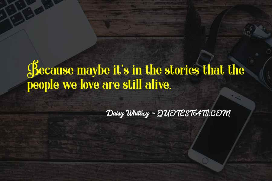 Daisy Whitney Quotes #1776438