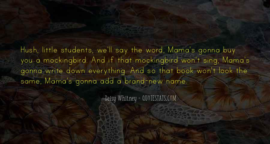Daisy Whitney Quotes #404072