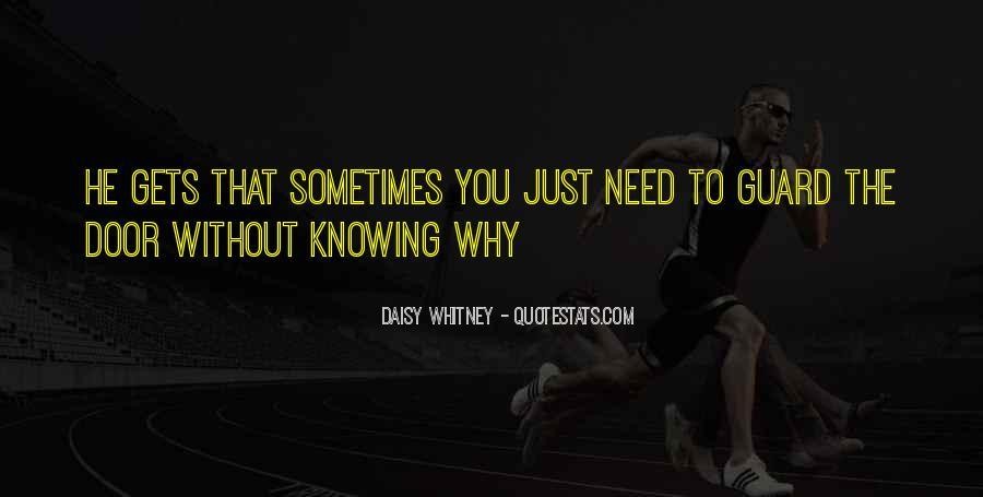 Daisy Whitney Quotes #661094