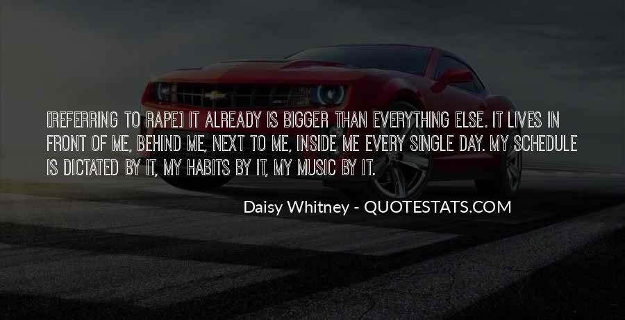 Daisy Whitney Quotes #741939