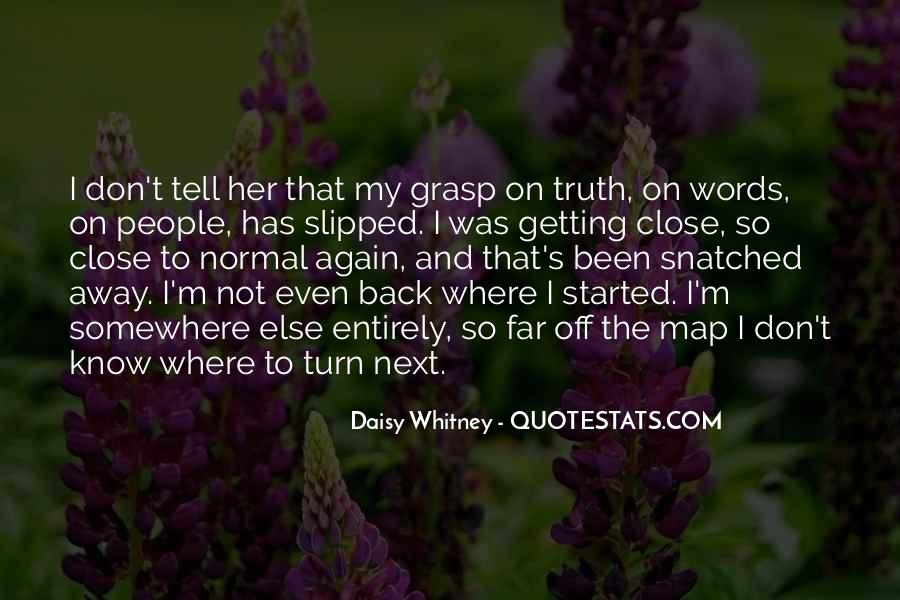 Daisy Whitney Quotes #871555