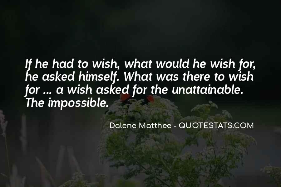 Dalene Matthee Quotes #1169544