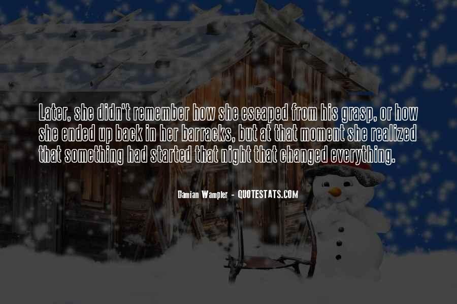 Damian Wampler Quotes #145123